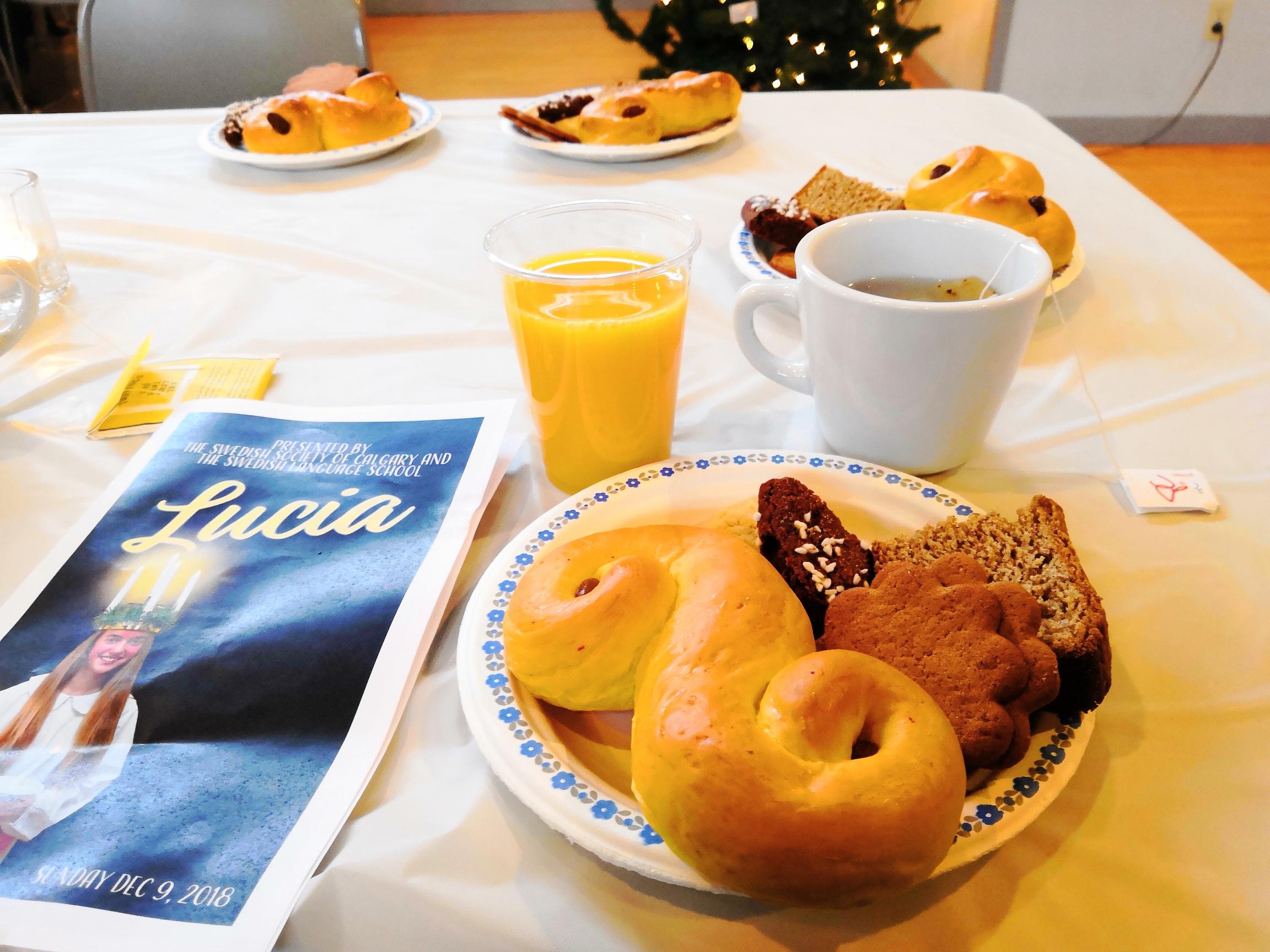 Swedish Christmas fika