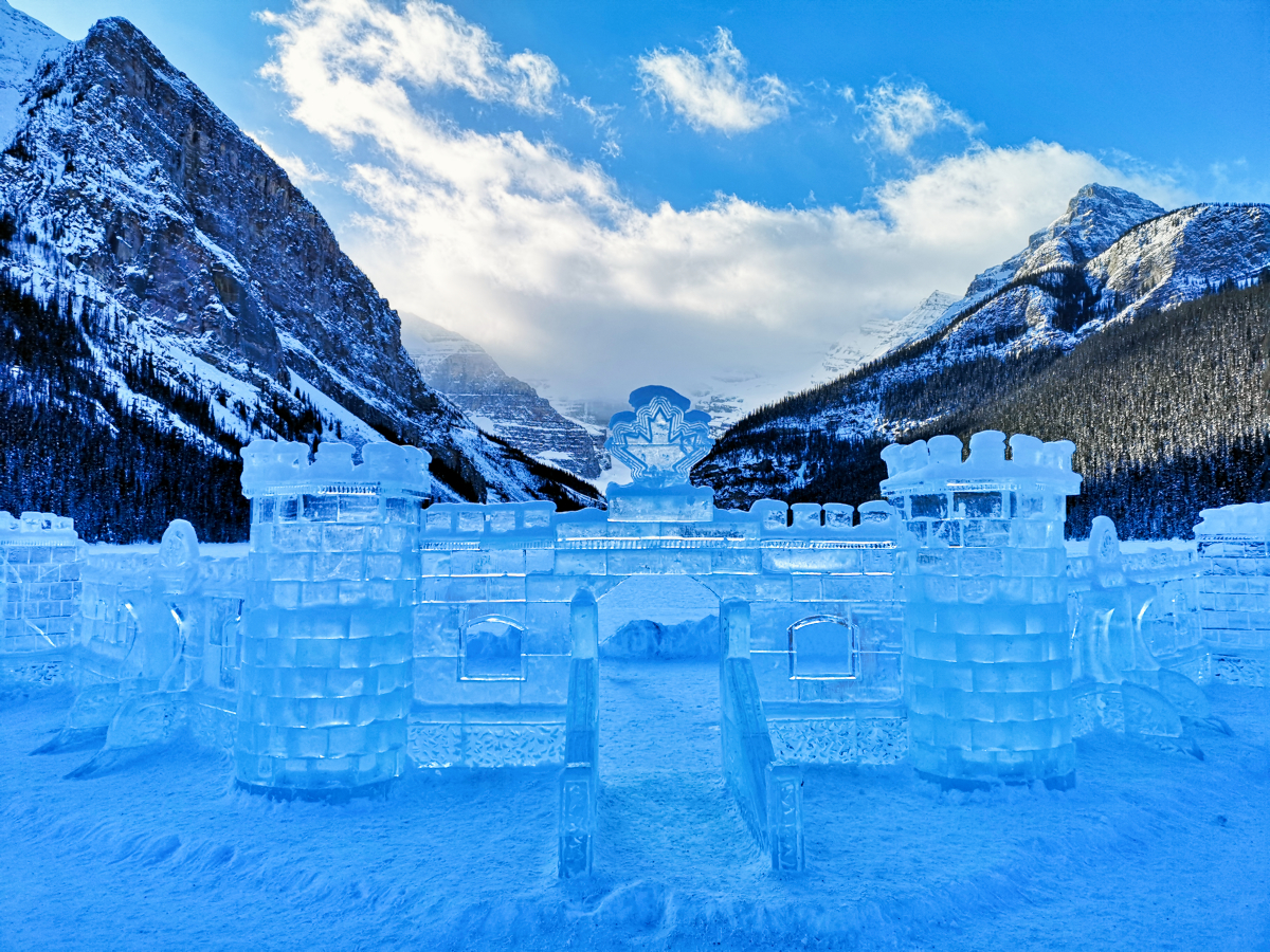Ice Castle Lake Louise