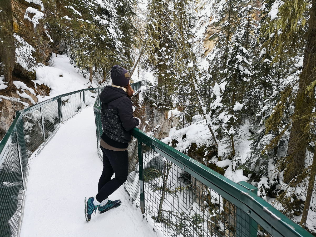 Catwalks on Johnston Canyon Hike
