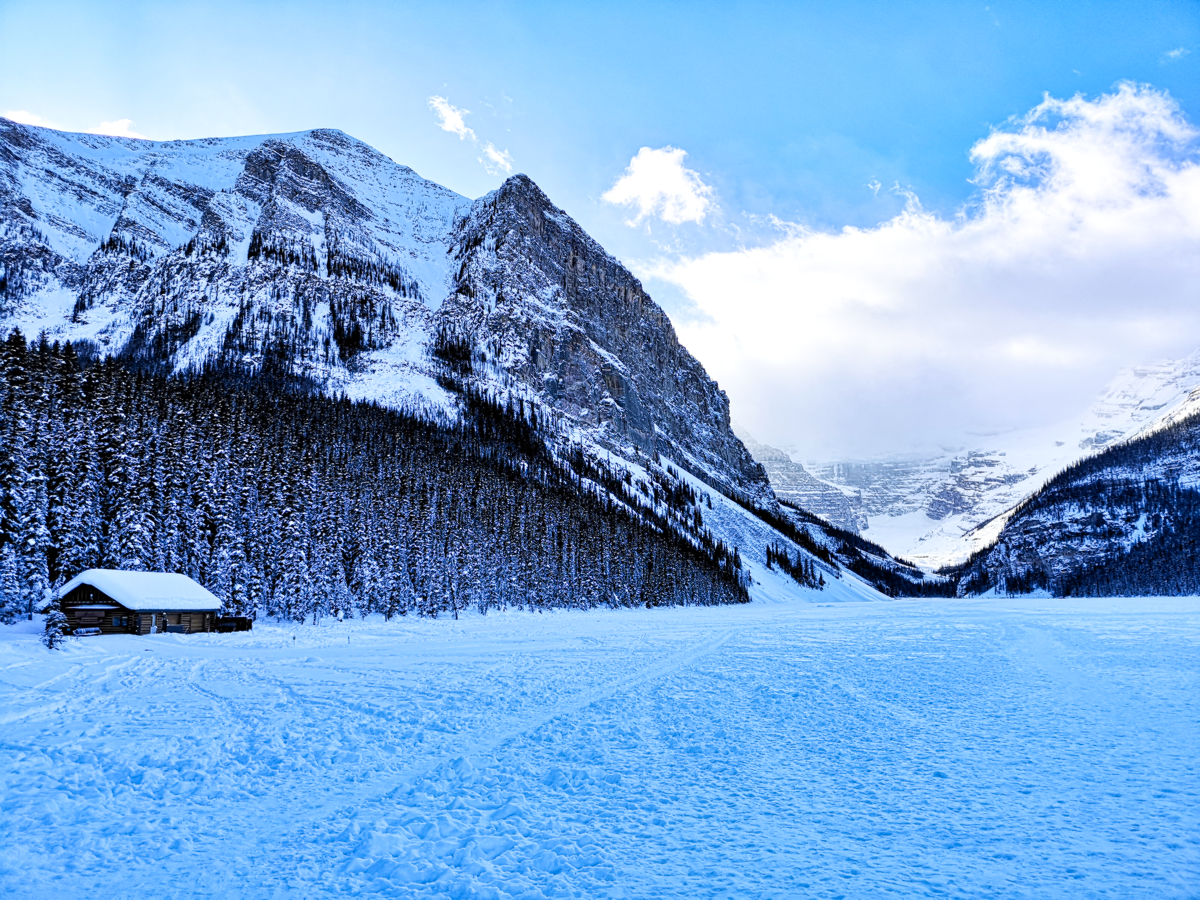 Visit Lake Louise In Winter