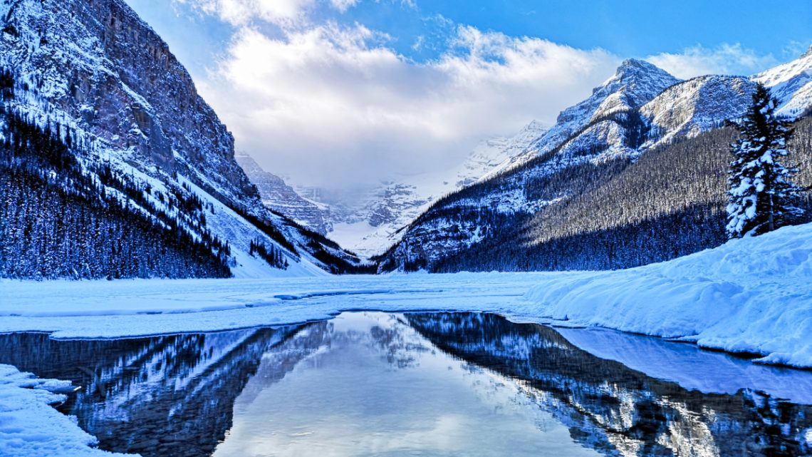 Why you should visit Lake Louise in winter