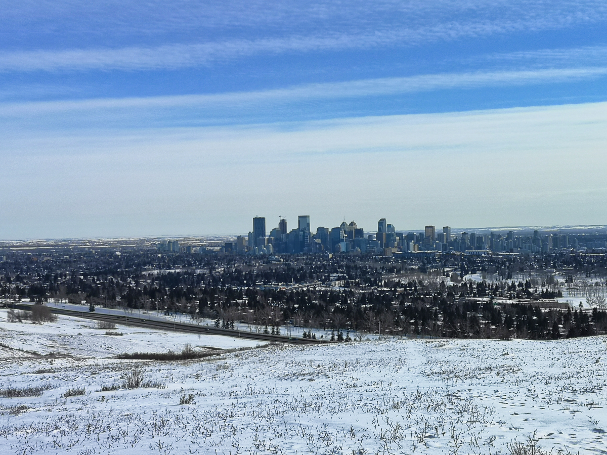 I want to travel the world again - bye Calgary!