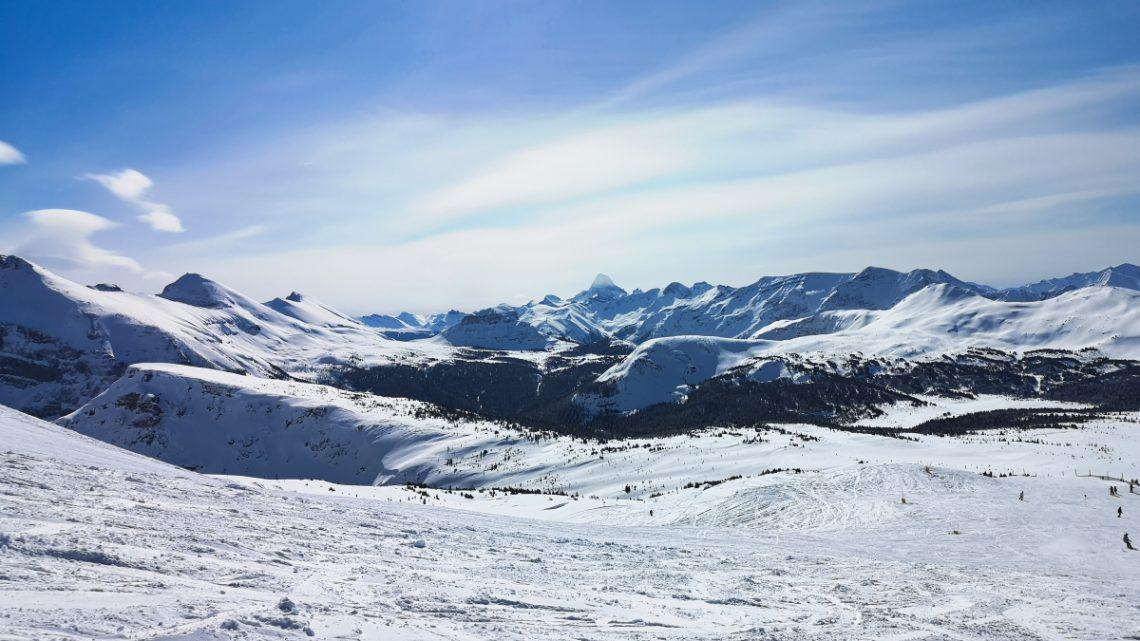 First time skiing in Banff – Sunshine Village
