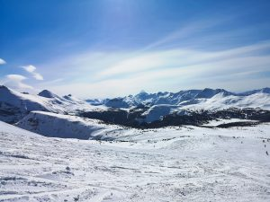 First time skiing in Banff – Sunshine Village