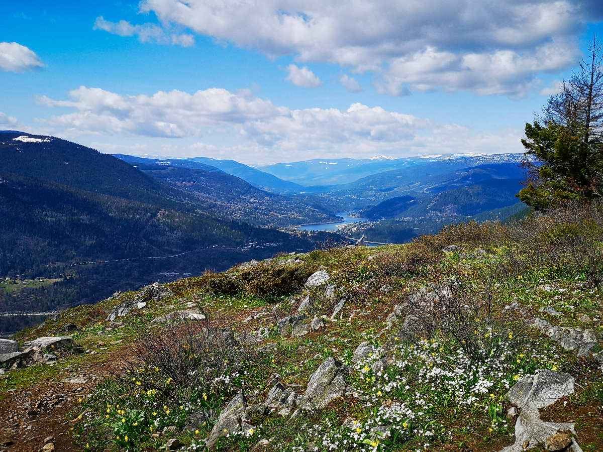 Hiking to the Flagpole in Nelson, British Columbia