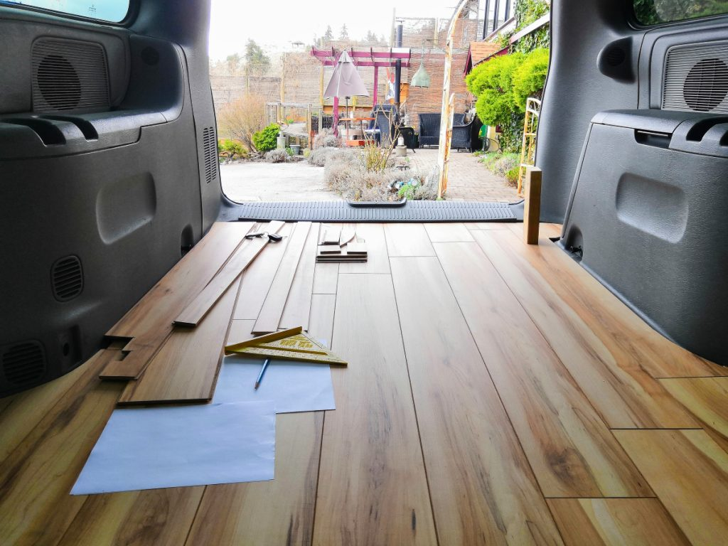 Floor in your camper