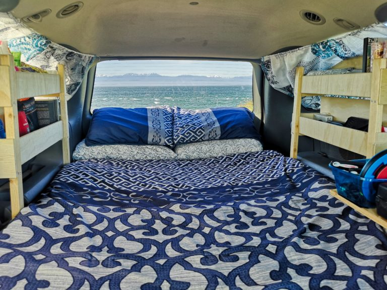 A Minivan Camper Conversion – our Dodge Grand Caravan Conversion