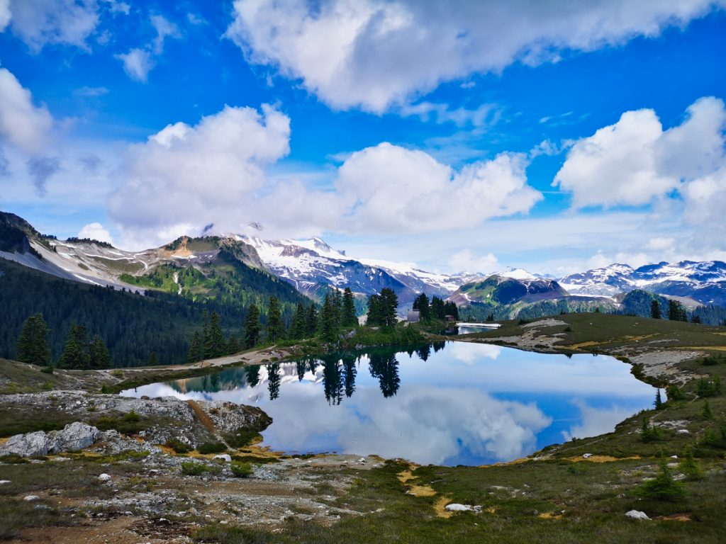Elfin Lakes is one of several beautiful hikes in Squamish and Garibaldi Provincial Park