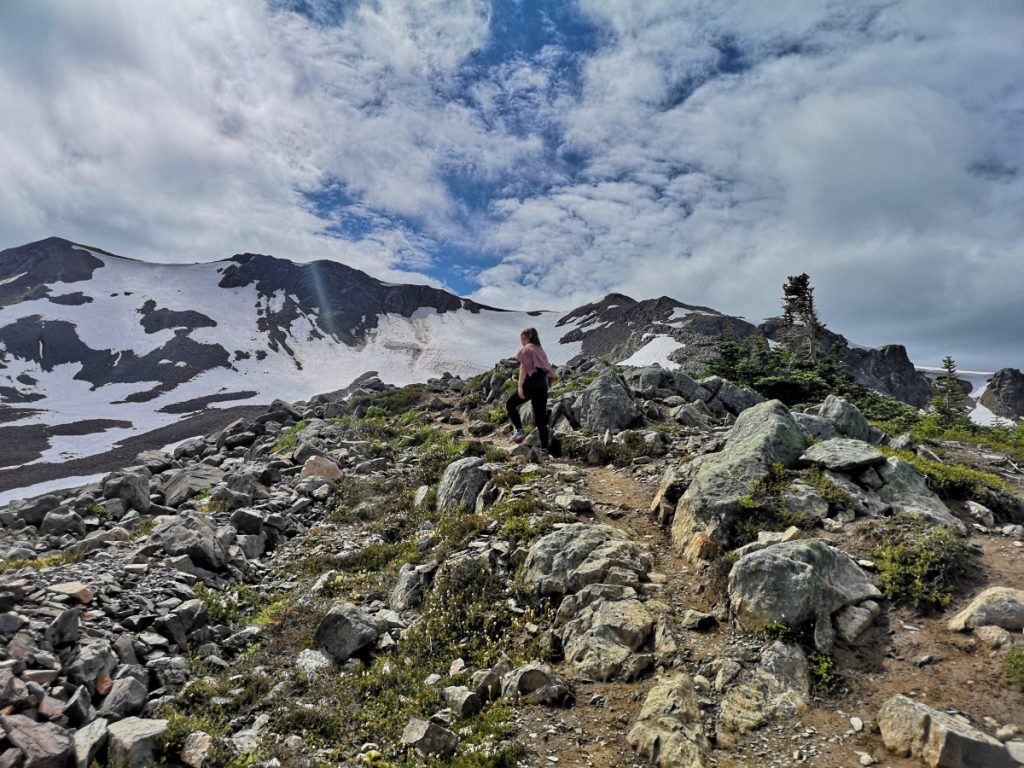 Hiking the Panorama Ridge trail in Garibaldi Provincial Park