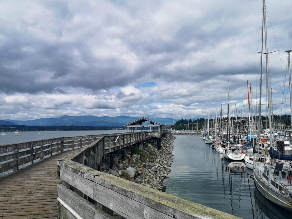 Fisherman's Wharf Boardwalk in Comox