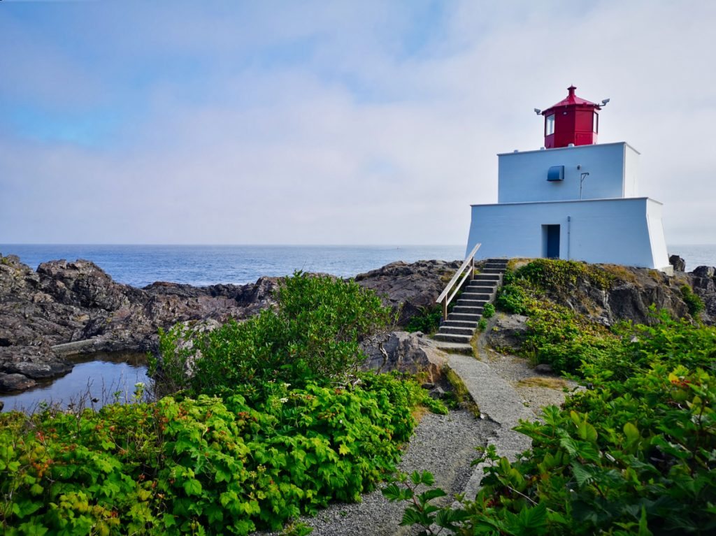Amphitrite Point Lighthouse in Ucluelet