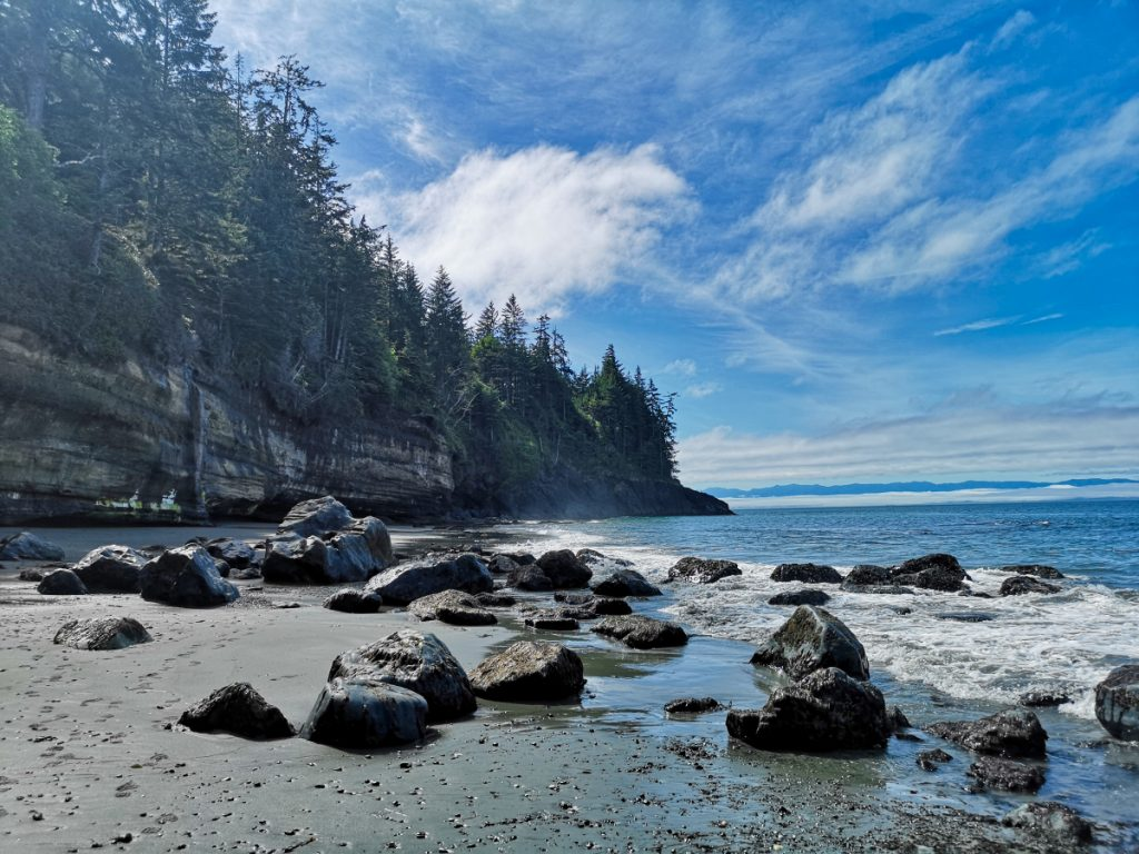 Mystic Beach - Vancouver Island itinerary
