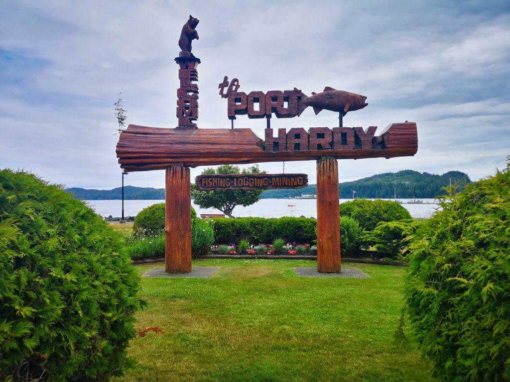 Port Hardy on Vancouver Island