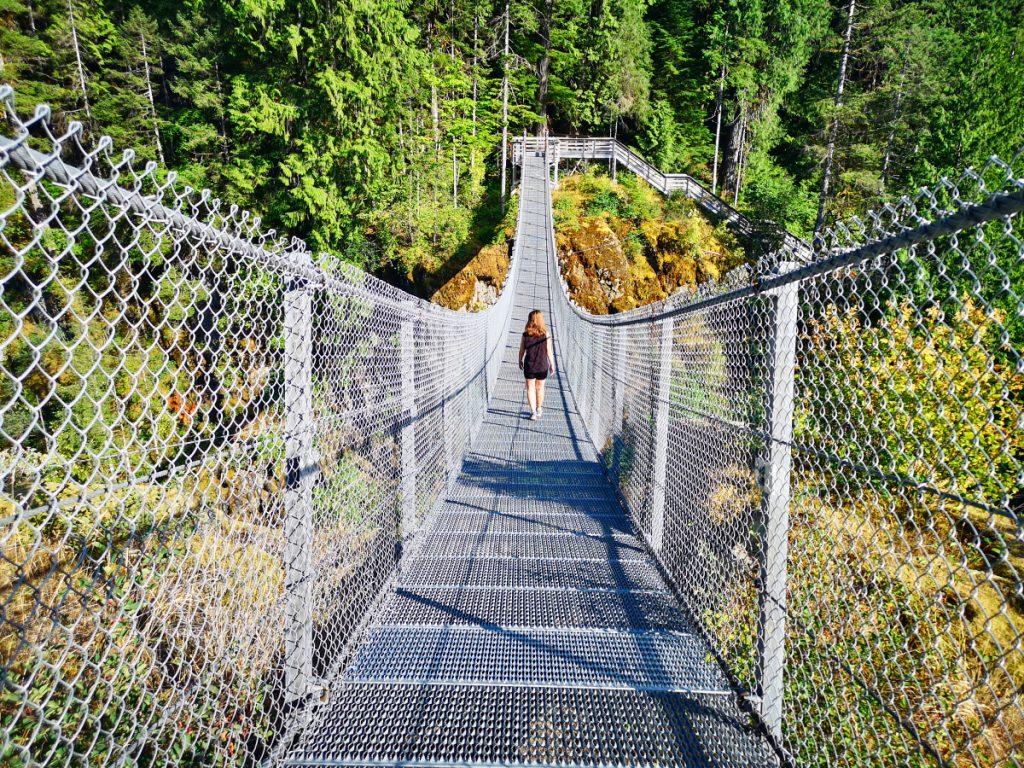 Elk Falls Suspension Bridge, Vancouver Island