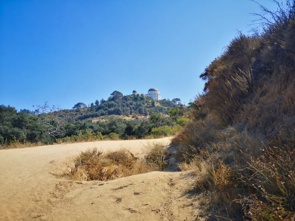 2 days in Los Angeles on a budget - hiking, on of the free things to do