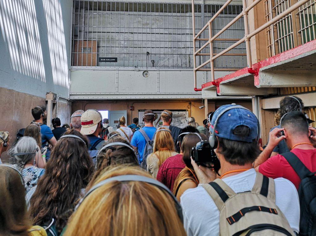 Self-guided tour Alcatraz