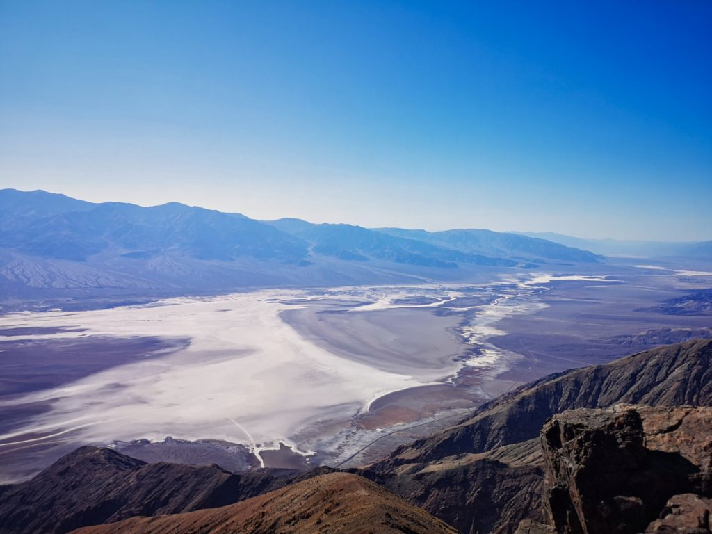 Dante's View on a Death Valley day trip